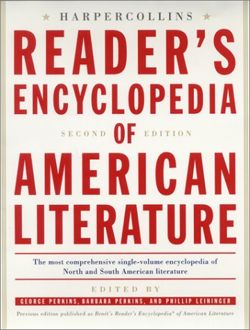 The HarperCollins Reader's Encyclopedia of American Literature