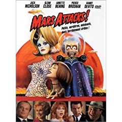 Mars Attacks ! - Tim Burton