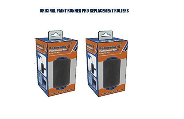 Paint Runner Pro Replacement Rollers - Set of 2