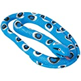 Wild Republic Toy Rubber Snake Twin Spotted 72 Inch Class