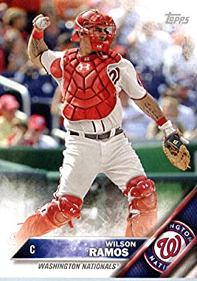 2016 Topps Team Edition #WN-2 Wilson Ramos Washington Nationals Baseball Card