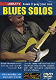 echange, troc Learn to Play Your Own Blues Solos [Import anglais]