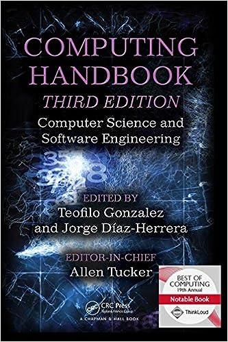 Computing Handbook. Computer Science and Software Engineering. Third Edition
