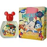 Disney Eau de Toilette Spray for Men, Mickey and Friends, 3.3 Ounce