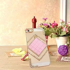 Purple Iphone 5s Girls case Bling Cover Back Designer Cover