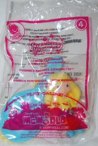 McDonalds 2010 Strawberry Shortcake Lemon Meringue #4 Doll - 1