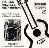 Vol. 2-Peg Leg Howell & Eddie