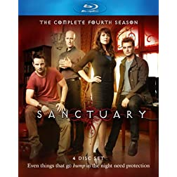 Sanctuary - The Complete Fourth Season [Blu-ray]