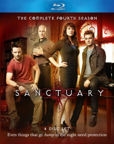 Cover art for  Sanctuary - The Complete Fourth Season [Blu-ray]