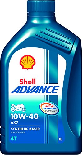 Buy shell advance ax7 550031394 10w 40 synthetic for 10w 40 synthetic motor oil