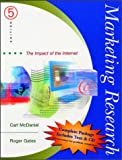 img - for Marketing Research: The Impact of the Internet book / textbook / text book