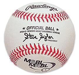 Rawlings RMSBL-N Official MSBL Baseball with Extra-Inning Technology (Sold in Dozens)