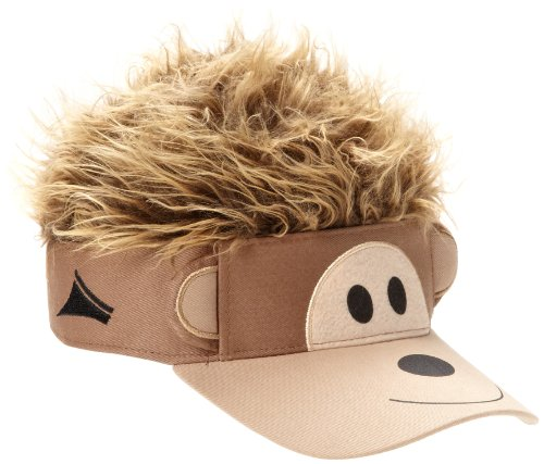 concept-one-accessories-big-boys-flair-hair-visor-monkey-face-brown-one-size