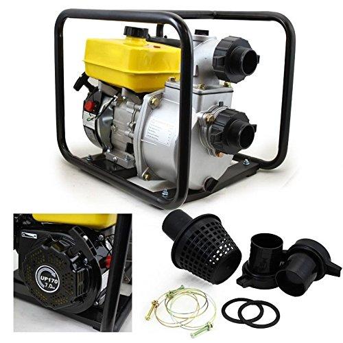 New Automatic Low Oil Cut-Off Full Tubing Frame Semi Trash/Water Pump