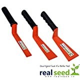 Real Seed Gardening Khurpas Pvd Soft Grip Combo Pack Garden Tool Kit (3 Tools)