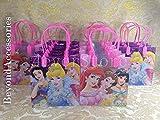 12pcs Disney Princess Treat Bags Goodies Bags Party Favor Birthday Gift Bags