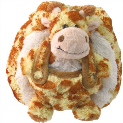 Kreative Kids Plush Animal Handbags Giraffe Handbag - 1
