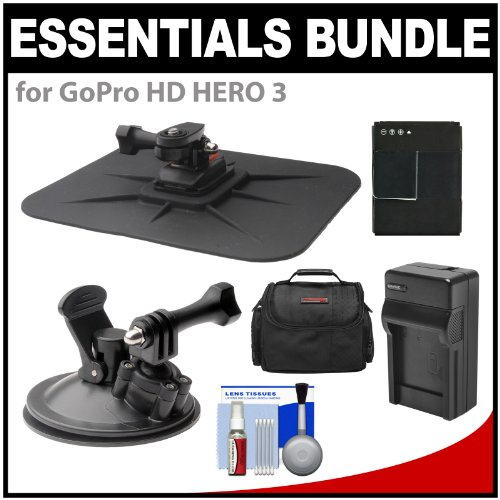 Essentials Bundle for GoPro HD HERO 3 Action