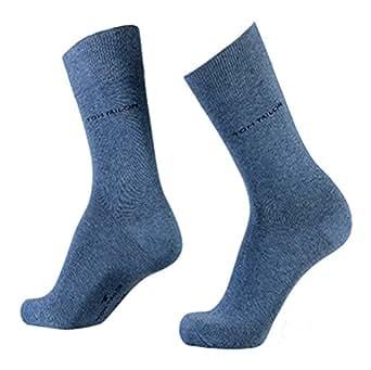 Tom Tailor Herren Socke 3 er Pack 9003 / Tom Tailor men basic socks 3 pack (39-42, 434 light Denim melange)
