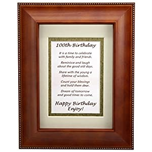 Amazon Com Happy 100th Birthday Toast Poem 100th