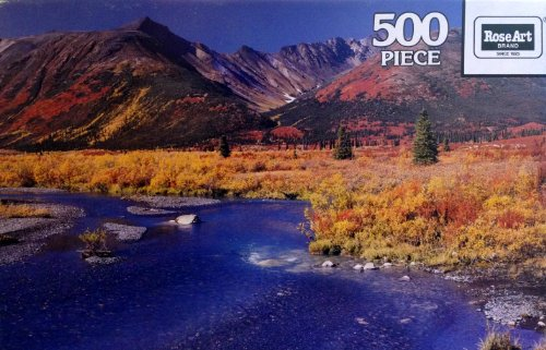Selwyn Mountains Encore 500 Pc. Jigsaw Puzzle