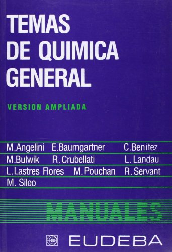 Temas de Quimica General (Spanish Edition)
