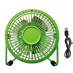 ( Green ) USB Mini Desktop Fan