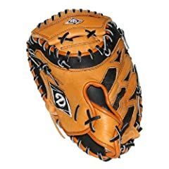 Buy Diamond Sports Game ready durable leather Catcher's Mitt (32-Inch) by Diamond Sports
