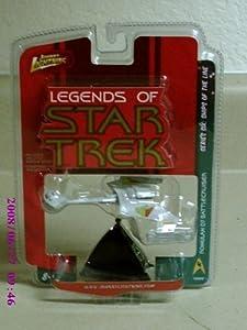 Johnny Lightning Legends of Star Trek Series 6: Ships Of The Line Romulan D7 Battlecruiser by Johnny Lightning Star Trek Series