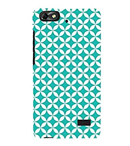 Heavy Green Circle 3D Hard Polycarbonate Designer Back Case Cover for Huawei Honor 4C :: Huawei G Play Mini