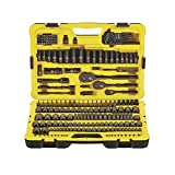 Stanley Professional Grade Black Chrome Socket Set with 229 pieces