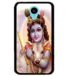 ColourCraft Lord Bal Gopal Design Back Case Cover for MEIZU M1 NOTE