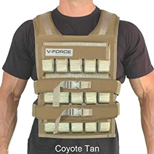 150 Lb. V-Force Long - Made in USA by Weight Vest