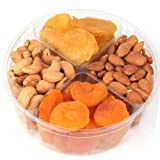 Nuts & Dried Fruit Gift Tray 4-section - Oh! Nuts