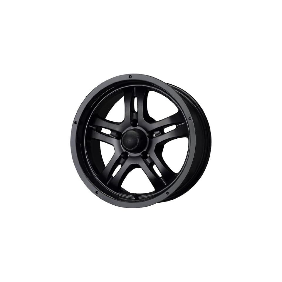 MB Wheels Gunner 5 Matte Black Wheel (17x8/5x127mm)