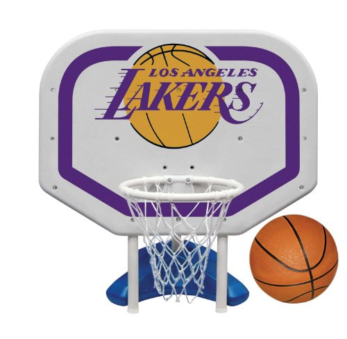 Poolmaster NBA LA Lakers Pro Rebounder PoolMaster Basketball & Volleyball Sets autotags B00ARUE2XO
