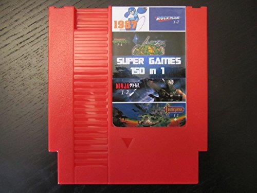 Top quality 72 Pins 8 bit Game Cartridge 150 in 1 with game Rockman 1 2 3 4 5 6 NINJA TURTLES Contra Kirby's Adventure by retrogames (Top 5 Game compare prices)