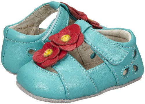 See Kai Run Girls' Smaller Kathleen (Infant)- Aqua - 18-24 Months front-979813