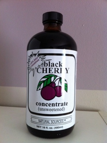 Natural Sources Black Cherry Concentrate 16 oz Photograph