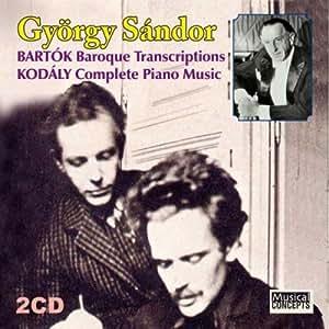 Bartok Gyorgy Sandor Piano Music Volume I Mikrokosmos