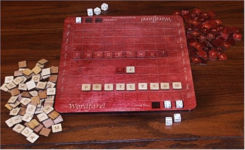 Deluxe WordFare!, Scrabble like word game - Buy Deluxe WordFare!, Scrabble like word game - Purchase Deluxe WordFare!, Scrabble like word game (Prettyfun Games, Toys & Games,Categories,Games,Board Games,Word Games)