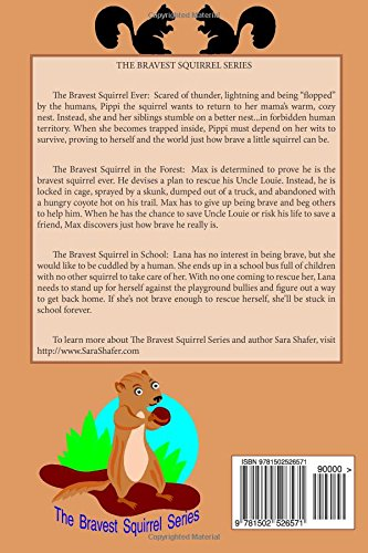 The Bravest Squirrel 3 Books in 1