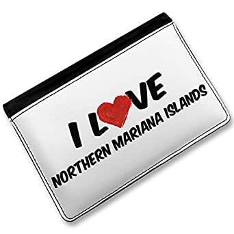 Love Northern Mariana Islands , Cover Case / Wallet - Ne: Clothing