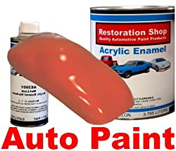 Omaha Orange QUALITY ACRYLIC ENAMEL Car Auto Paint Kit