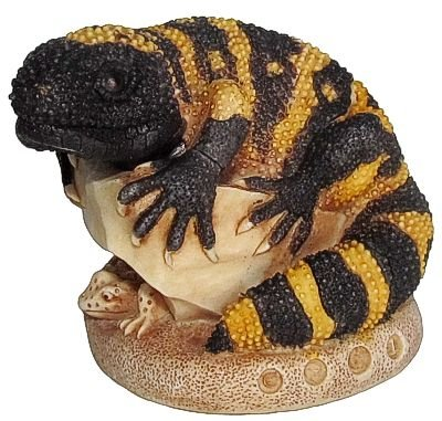 """Harmony Kingdom """"Tip The Scales - Version 1"""" Lizard Figurine front-697054"""