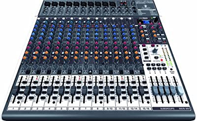 Behringer XENYX X2442USB Premium 24-Input 4/2-Bus Mixer with XENYX Mic Preamps & Compressors by Behringer