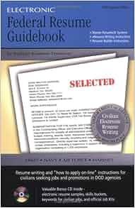 electronic federal resume guidebook kathryn kraemer