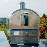 """19.88"""" Outdoor Pizza Oven Gas Grill"""