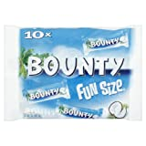 Mars Chocolate Bounty Milk Fun Size x 16 303g bags