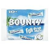 Mars Chocolate Bounty Milk Fun Size 303g bags (Pack of 16)